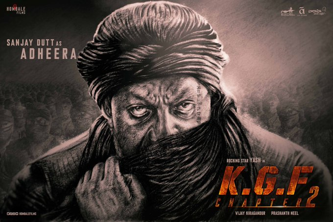 The Attention-grabbing Story on Sanjay Dutt Starrer KGF 2