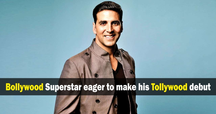 Bollywood Superstar eager to make his Tollywood Debut
