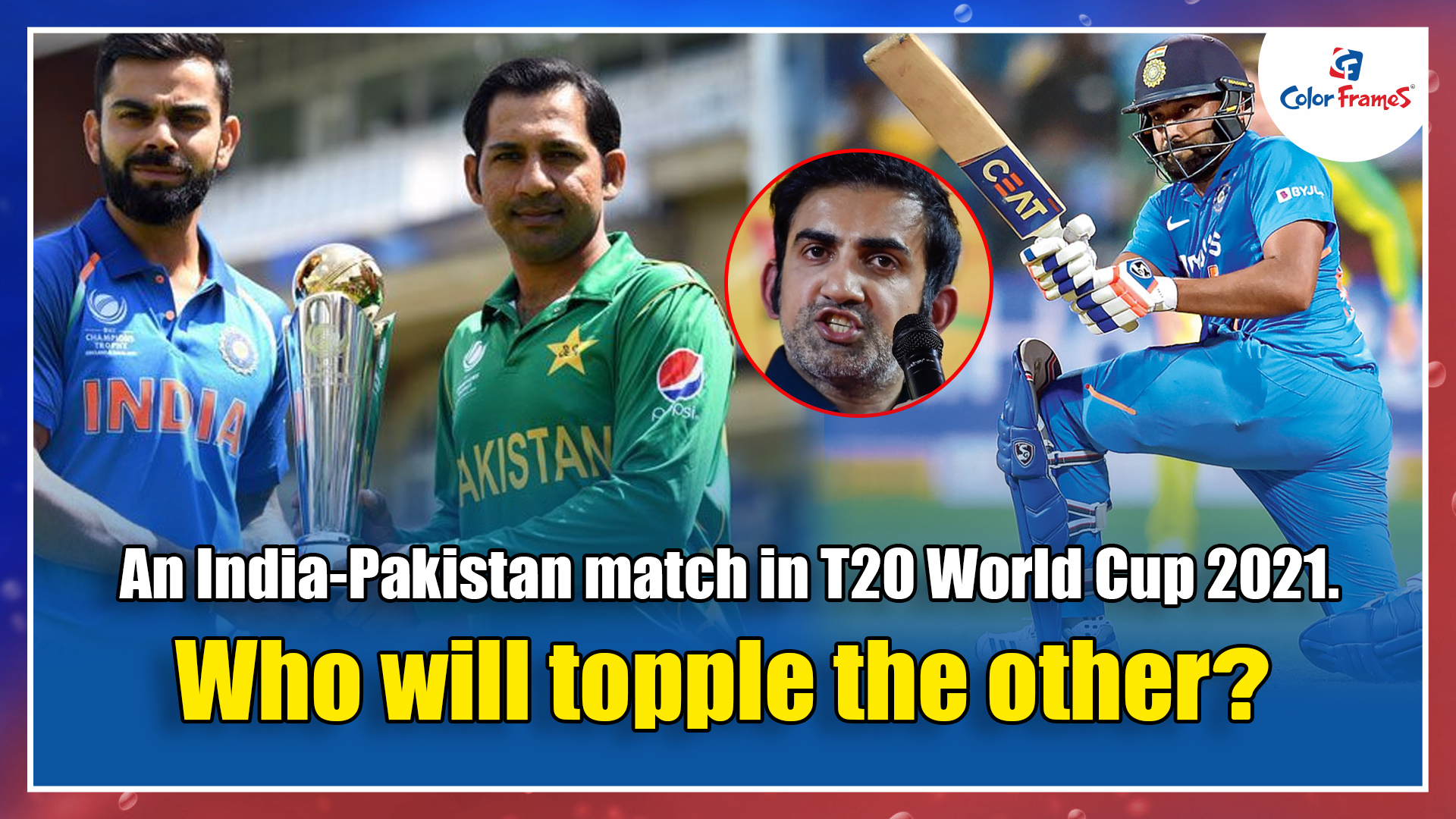An India-Pakistan match in T20 World Cup 2021. Who will topple the other?