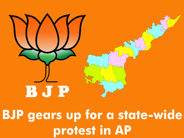 BJP gears up for a state-wide protest in AP
