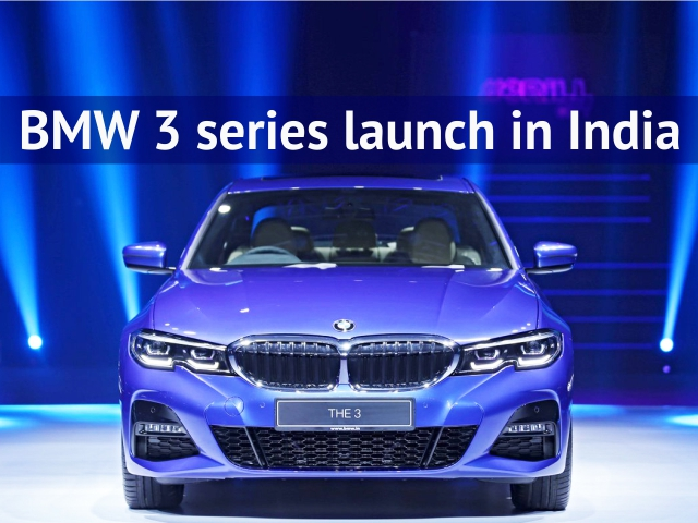 BMW 3 Series launched in India