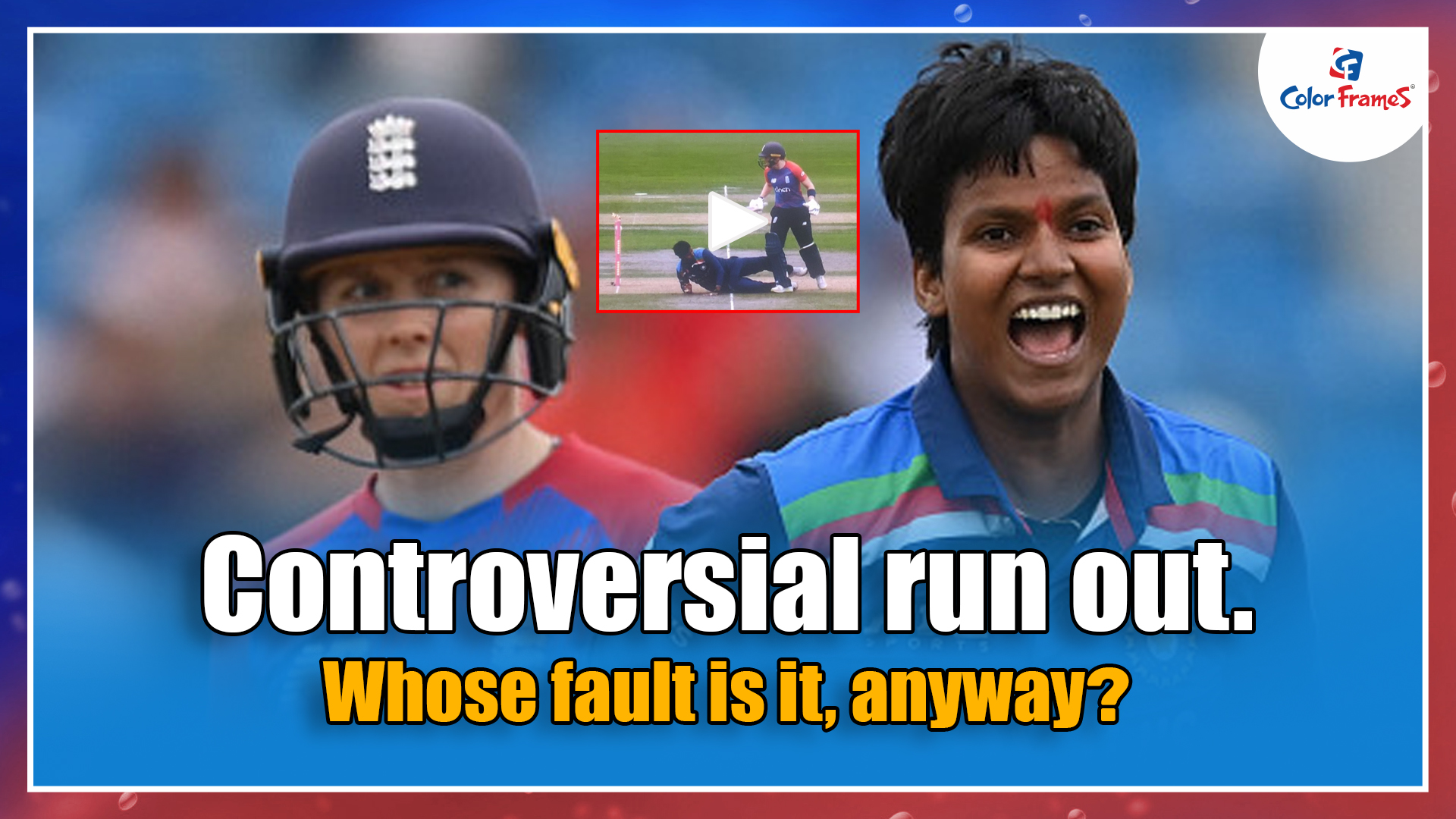 Controversial run out. Whose fault is it, anyway?