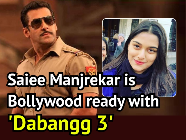 Sairee Manjrekar is Bollywood ready with 'Dabangg 3'