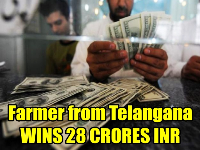 Farmer from Telangana WINS 28 CRORES INR