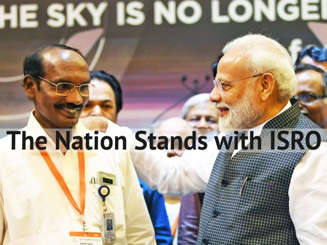 The Nation Stands with ISRO