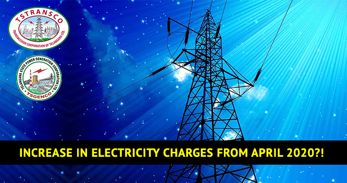 Increase in electricity charges from April 2020?!