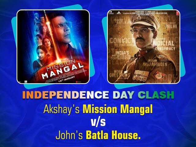 Independence Day Clash: Akshay's Mission Mangal v/s John's Batla House