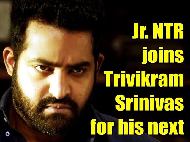 Jr. NTR joins Trivikram Srinivas for his next.