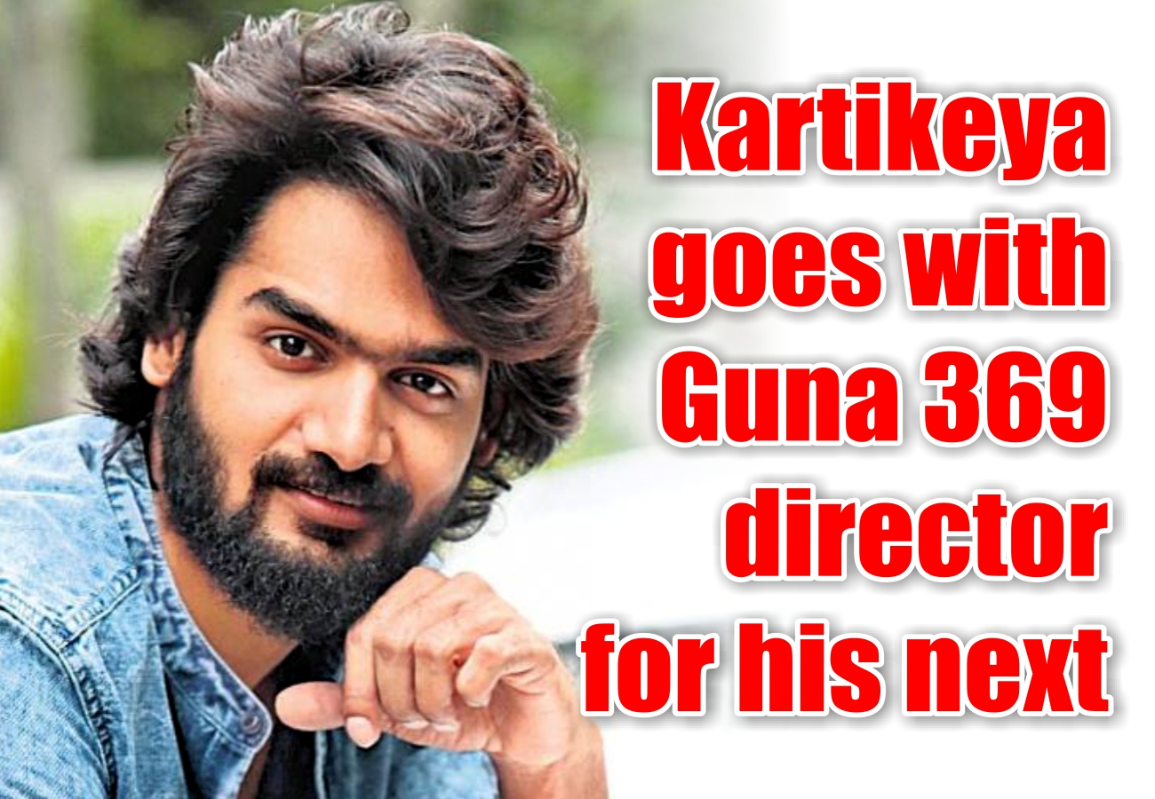 Kartikeya goes with Guna 369 director for his next