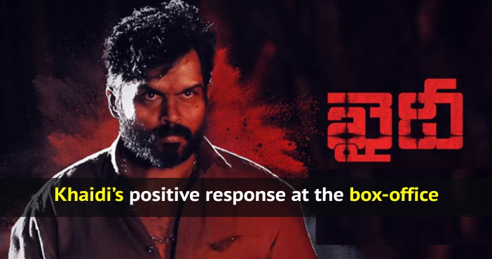 Khaidi's positive response at the box-office