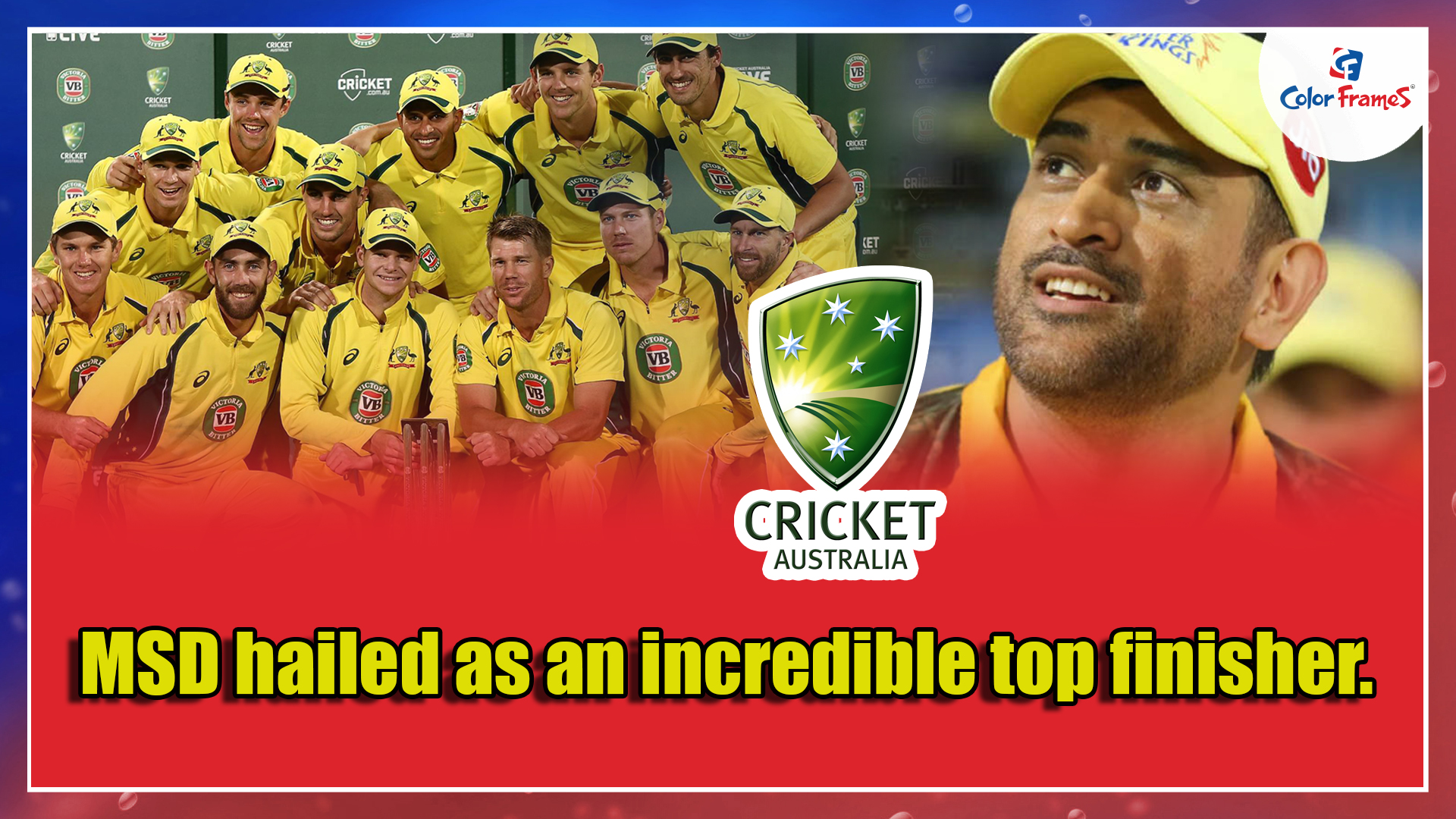 MSD hailed as an incredible top finisher.