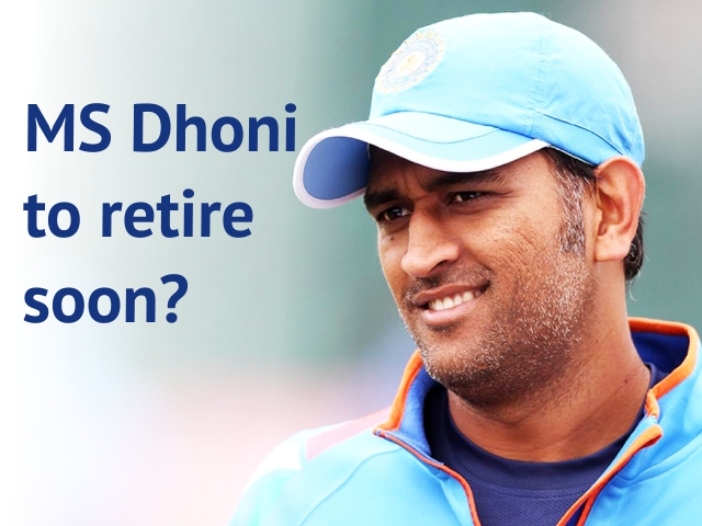 MS Dhoni to Retire Soon?