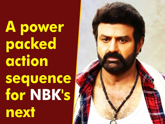 A power packed action sequence for NBK's next