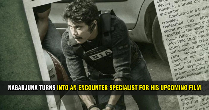 Nagarjuna turns into an encounter specialist for his upcoming film