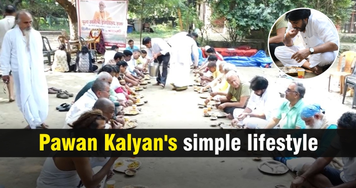 Pawan Kalyan's simple lifestyle