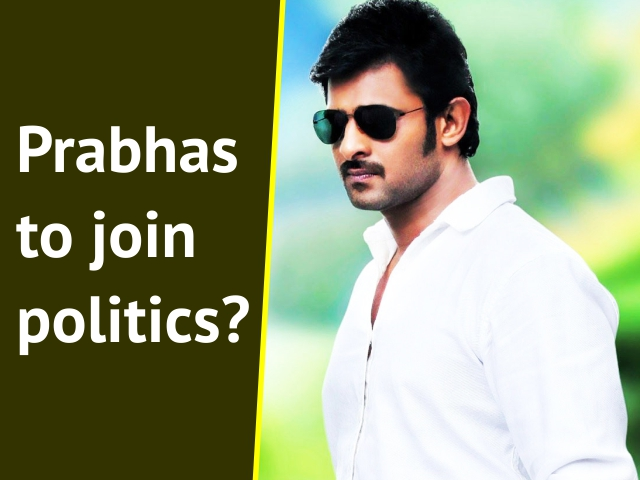 Prabhas to join politics?