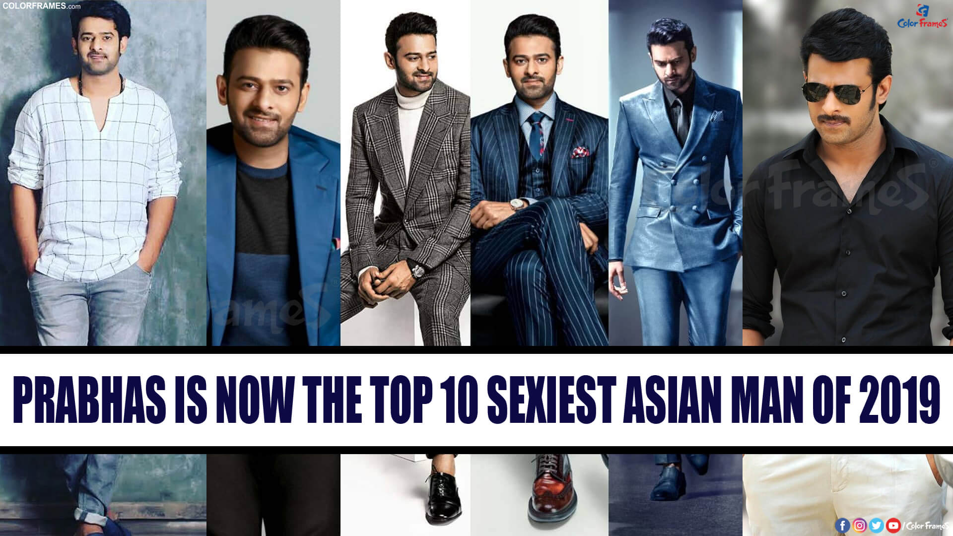 Prabhas is now the Top 10 Sexiest Asian Man of 2019