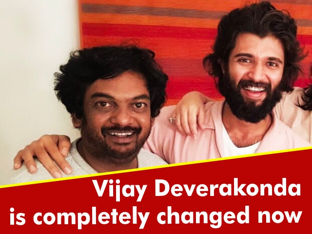 Vijay Deverakonda is completely changed now?!