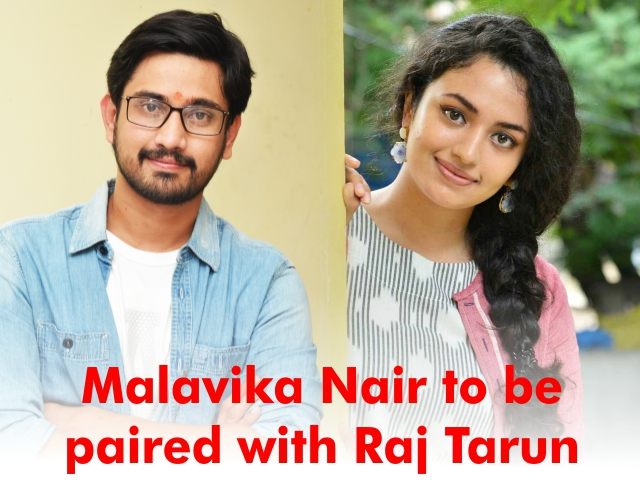 Malavika Nair to be paired with Raj Tarun