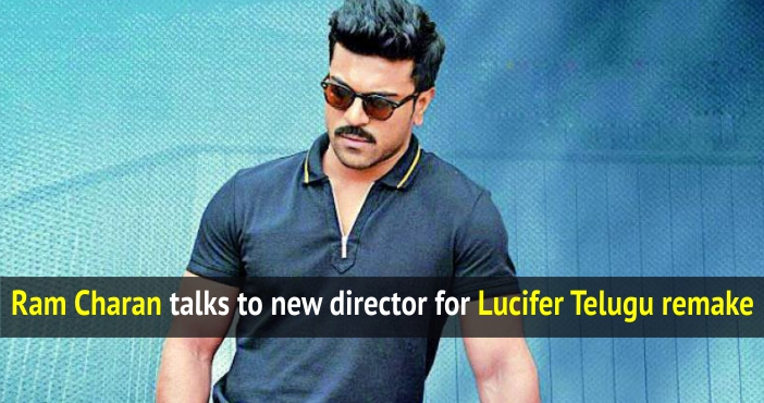 Ram Charan talks to new director for Lucifer Telugu remake