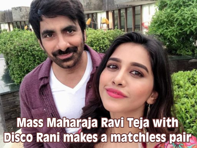 Mass Maharaja Ravi Teja with Disco Rani makes a matchless pair