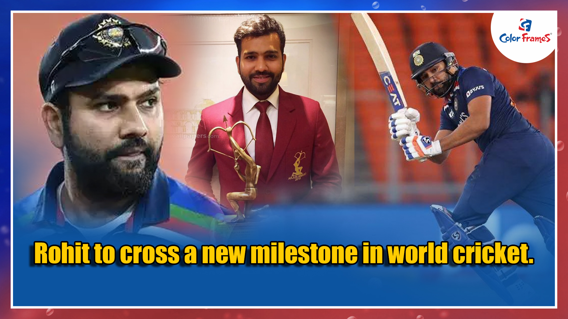 Rohit to cross a new milestone in world cricket.