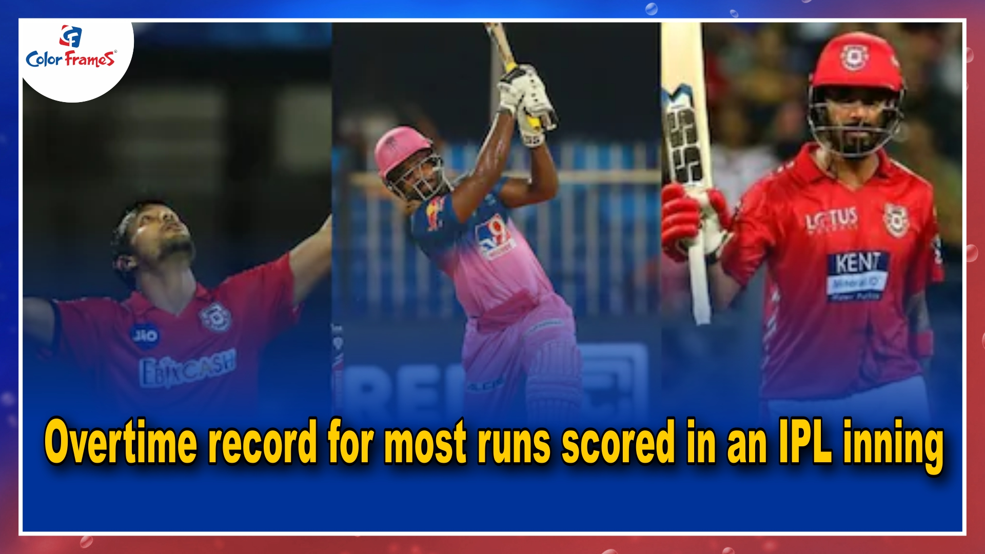 IPL 2021: Overtime record for most runs scored in an IPL inning