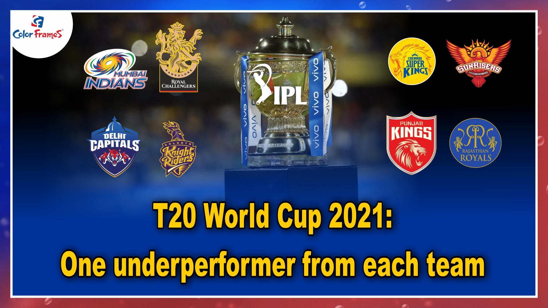 T20 World Cup 2021: One underperformer from each team