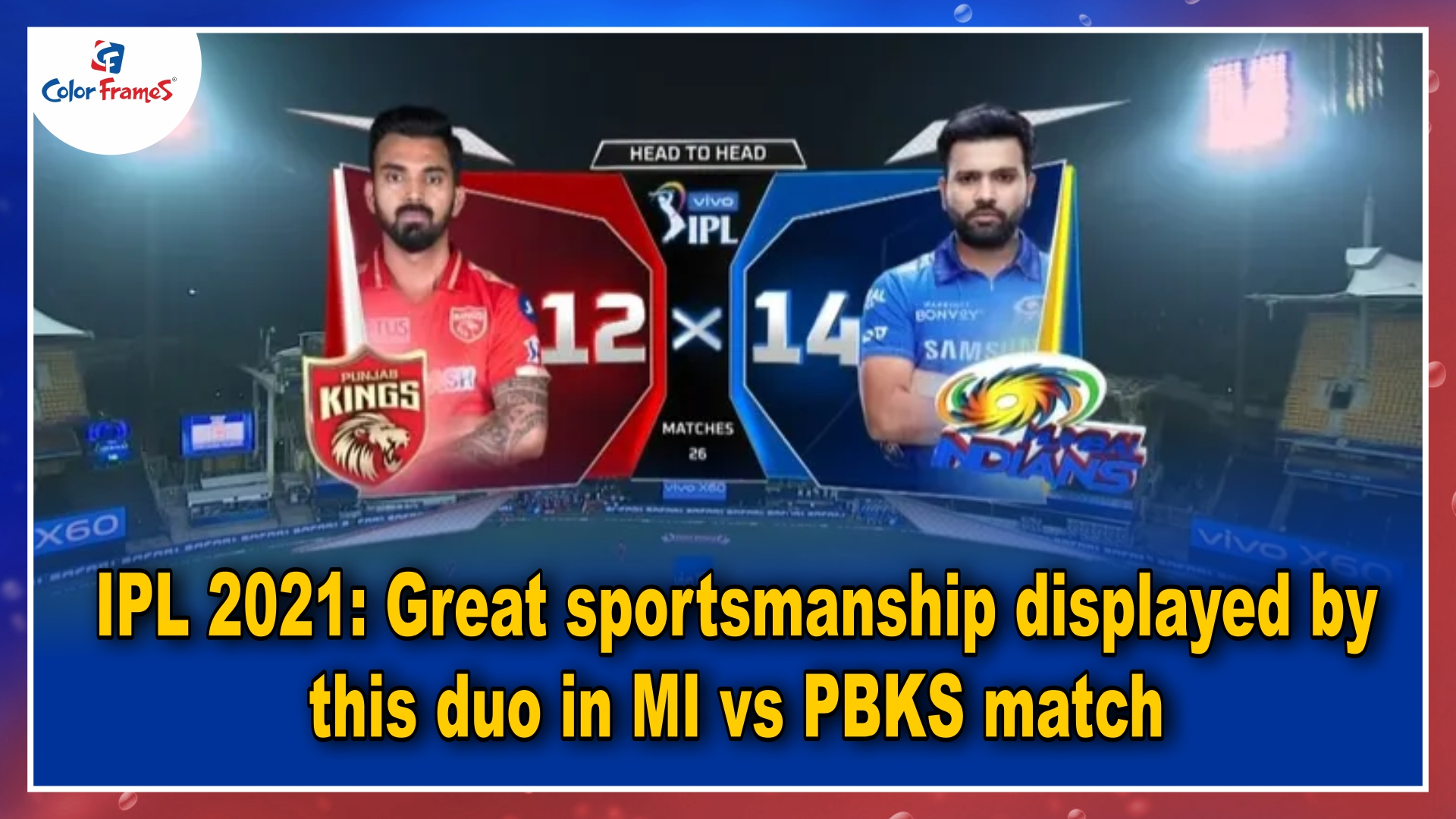 IPL 2021: Great sportsmanship displayed by this duo in MI vs PBKS match