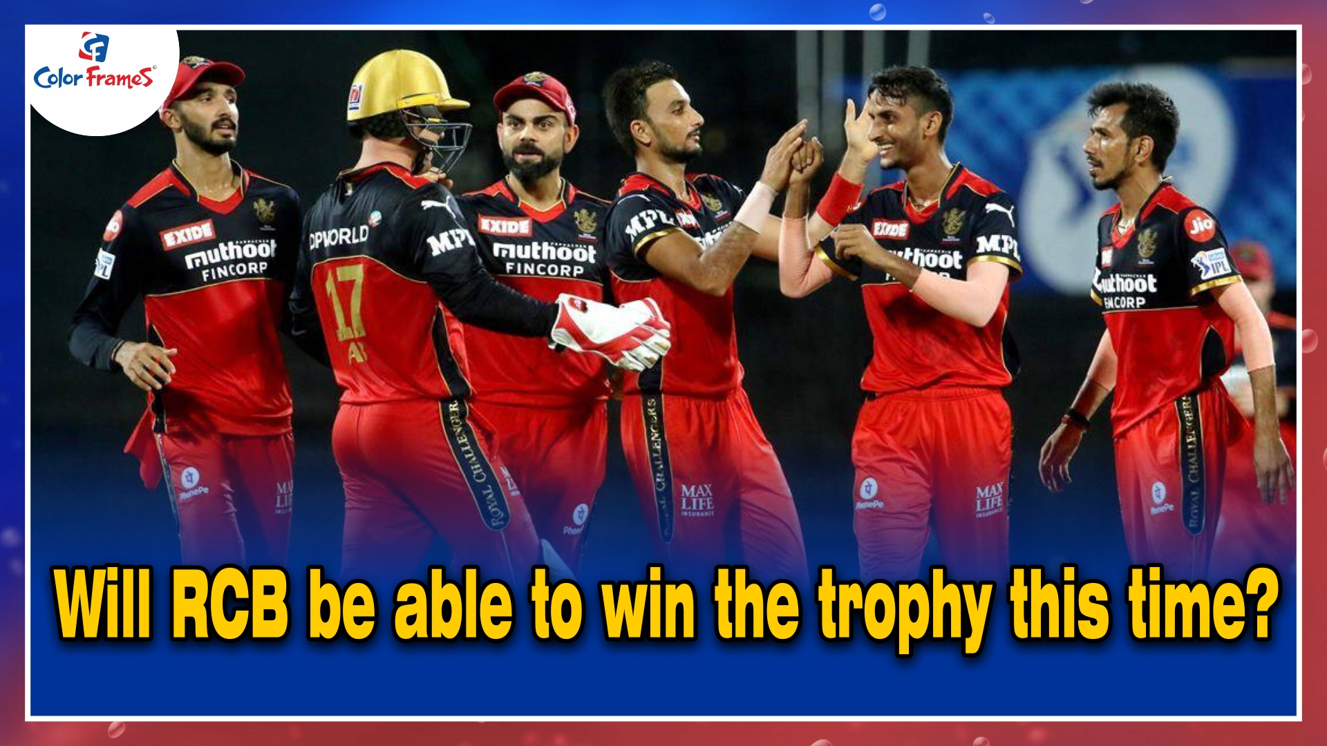 Will RCB be able to win the trophy this time?