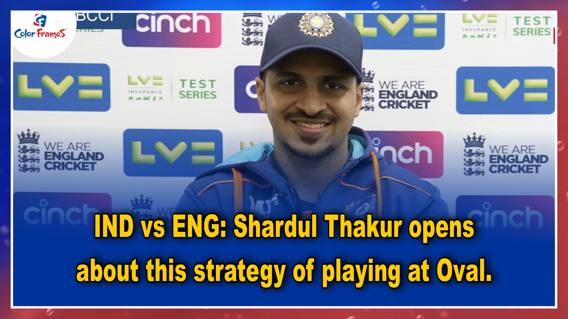 IND vs ENG: Shardul Thakur opens about this strategy of playing at Oval.