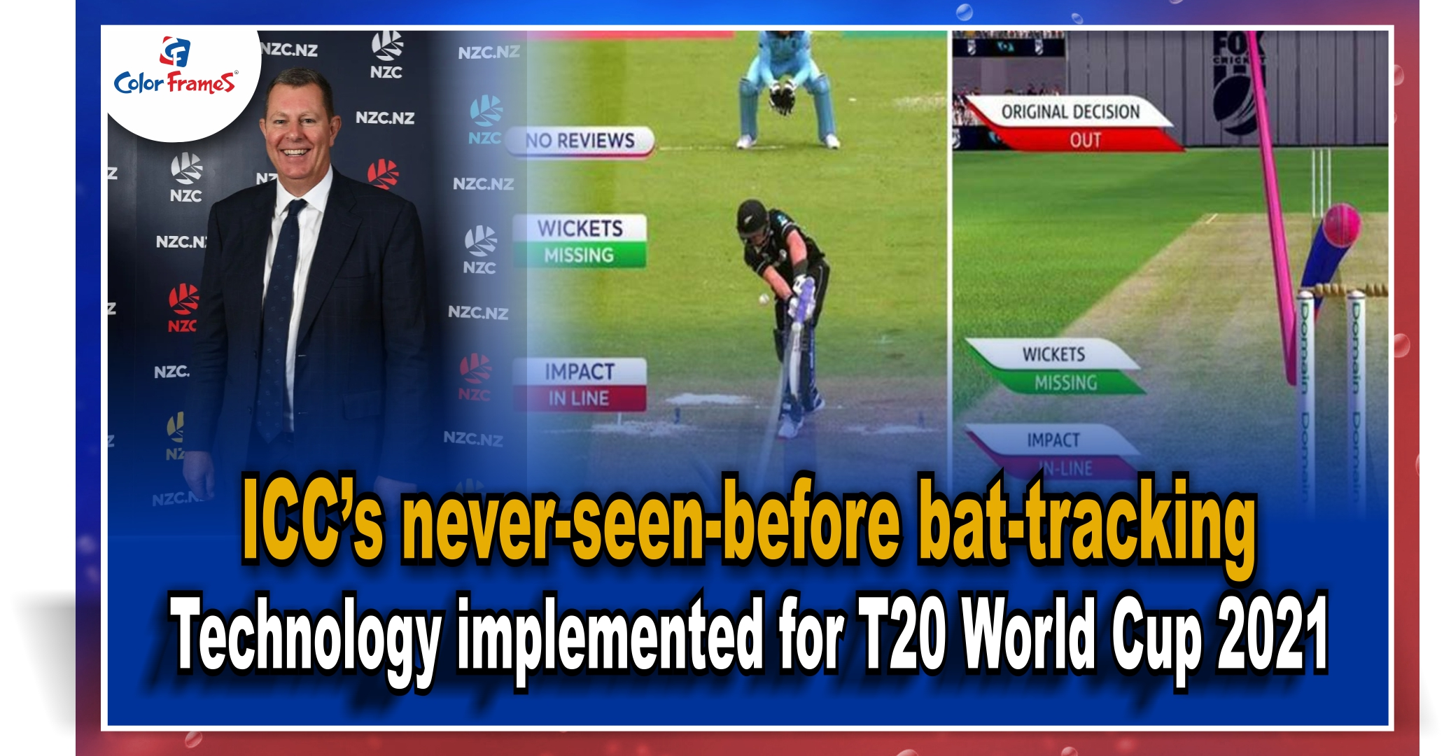 ICC's never-seen-before bat-tracking technology implemented for T20 World Cup 2021