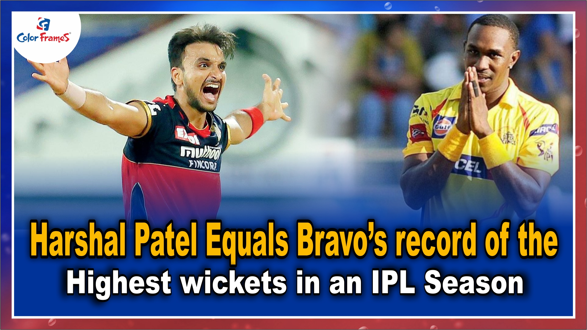 IPL 2021: Harshal Patel Equals Bravo's record of the highest wickets in an IPL Season