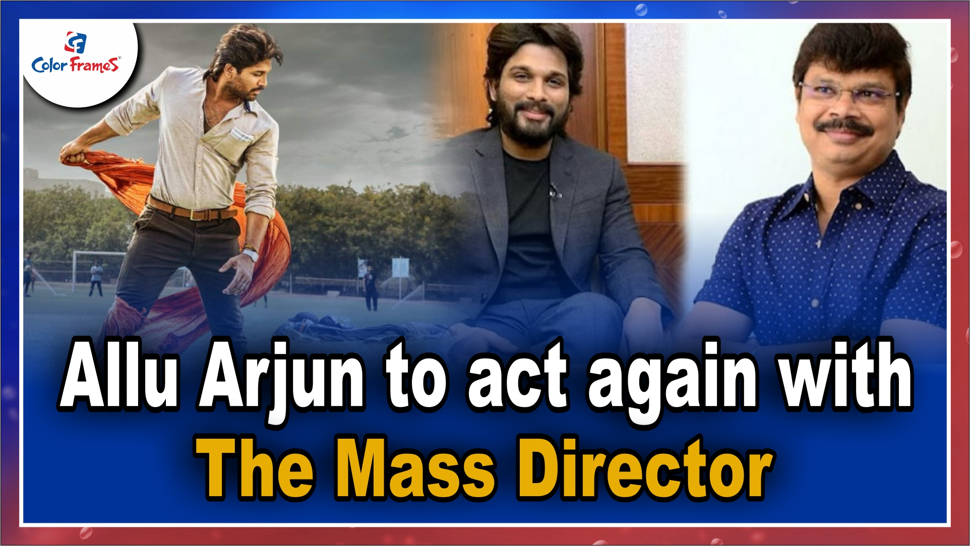Allu Arjun to act again with the mass director.