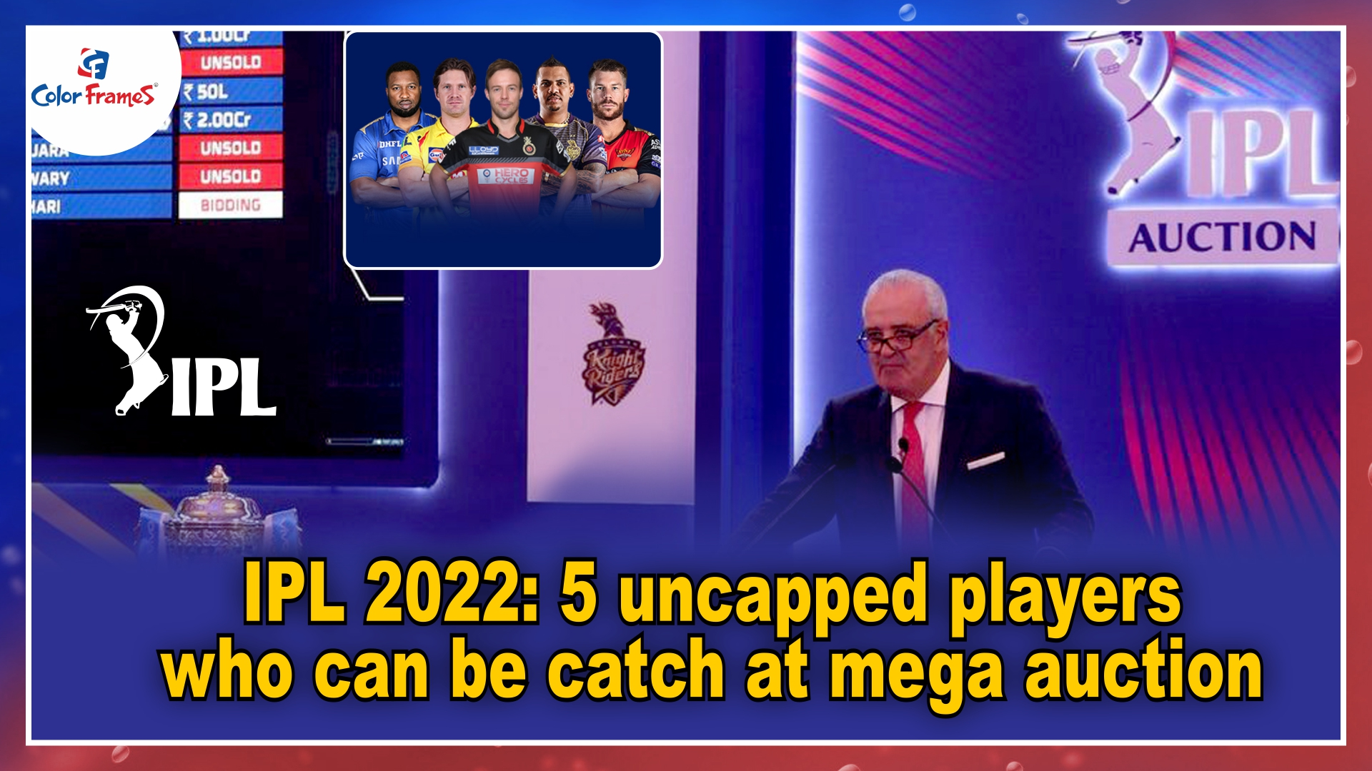 IPL 2022: 5 uncapped players who can be catch at mega auction