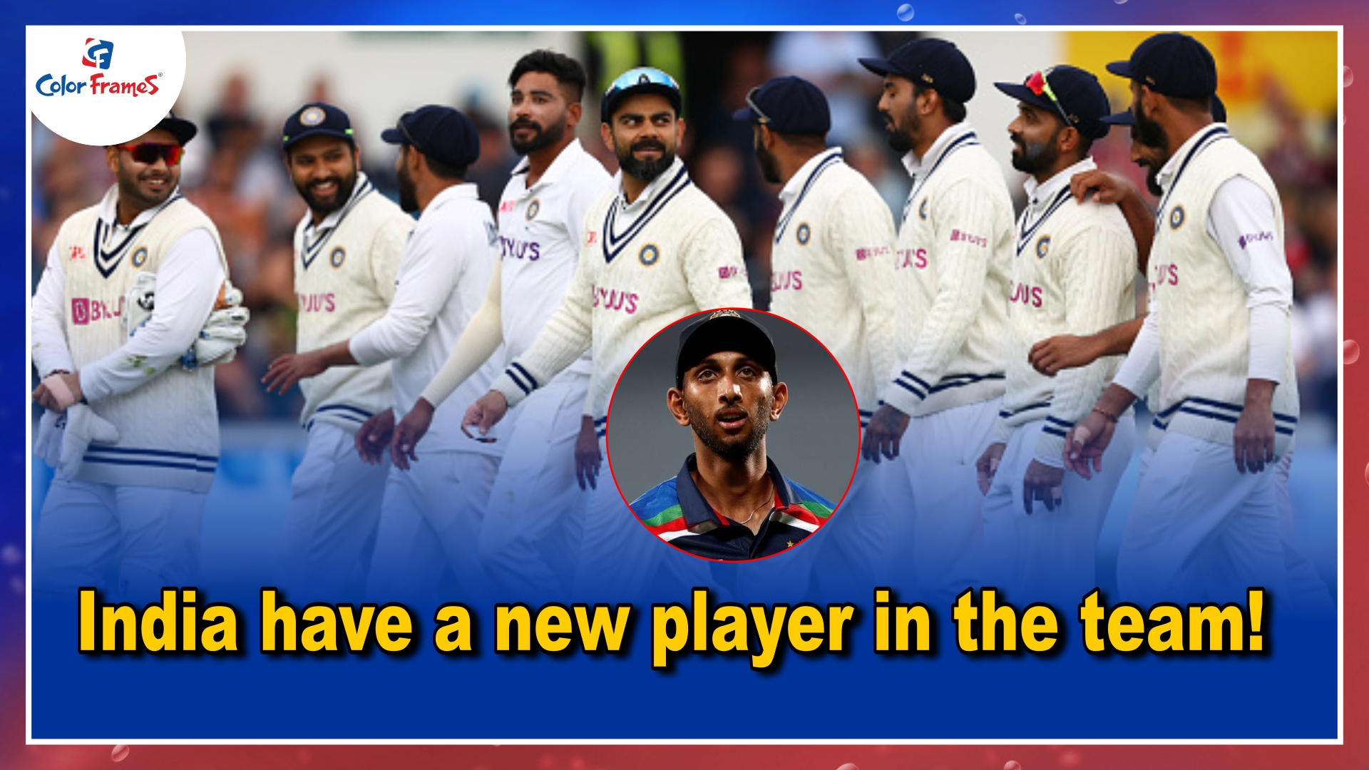 India have a new player in the team!