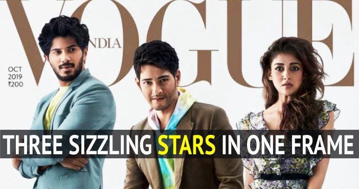 Mahesh Babu, Nayanthara and Dulquer Salmaan Sizzling in One Frame