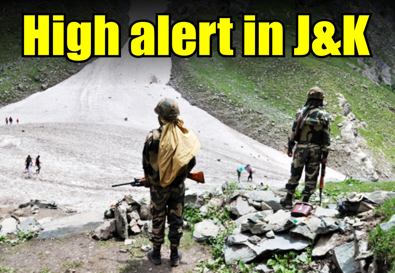 High alert in J&K ahead of Amarnath Yatra