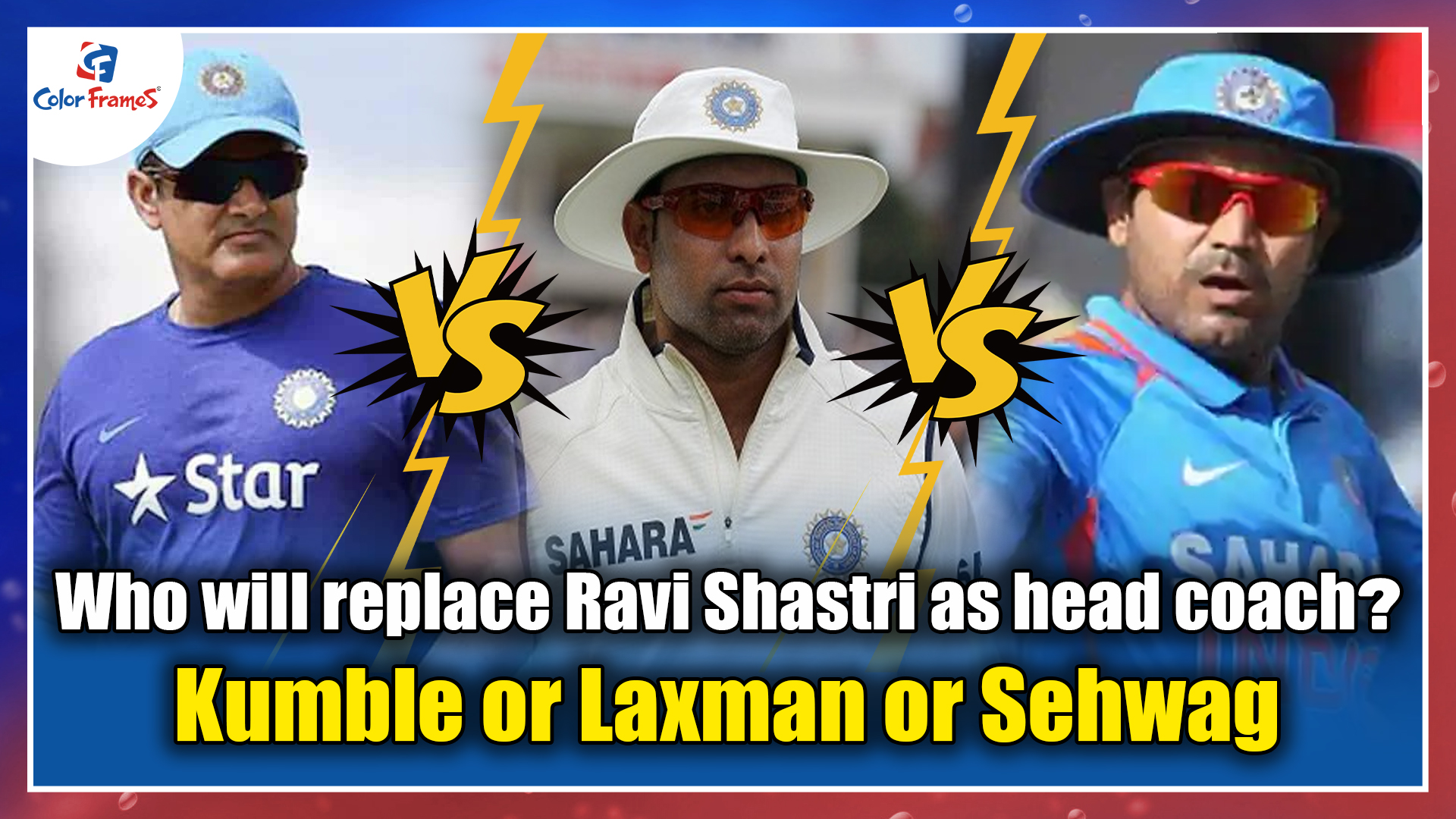 Who will replace Ravi Shastri as head coach? Kumble or Sehwag or Laxman?