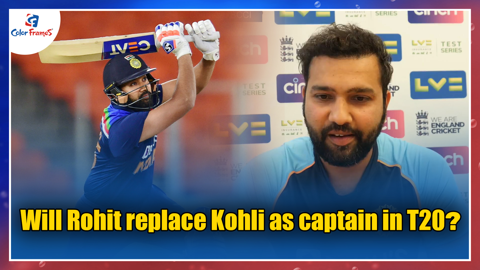 Will Rohit replace Kohli as captain in T20?